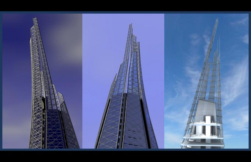 tower spire design and section