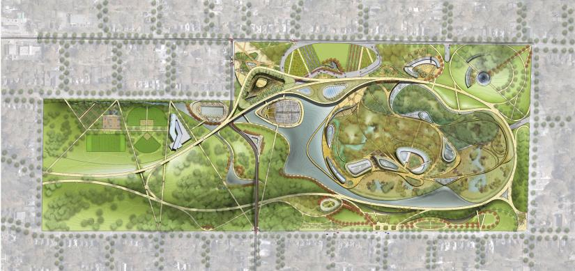 Grant Park and Zoo Atlanta Masterplan