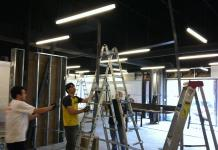 A-600 Office Renovation under construction