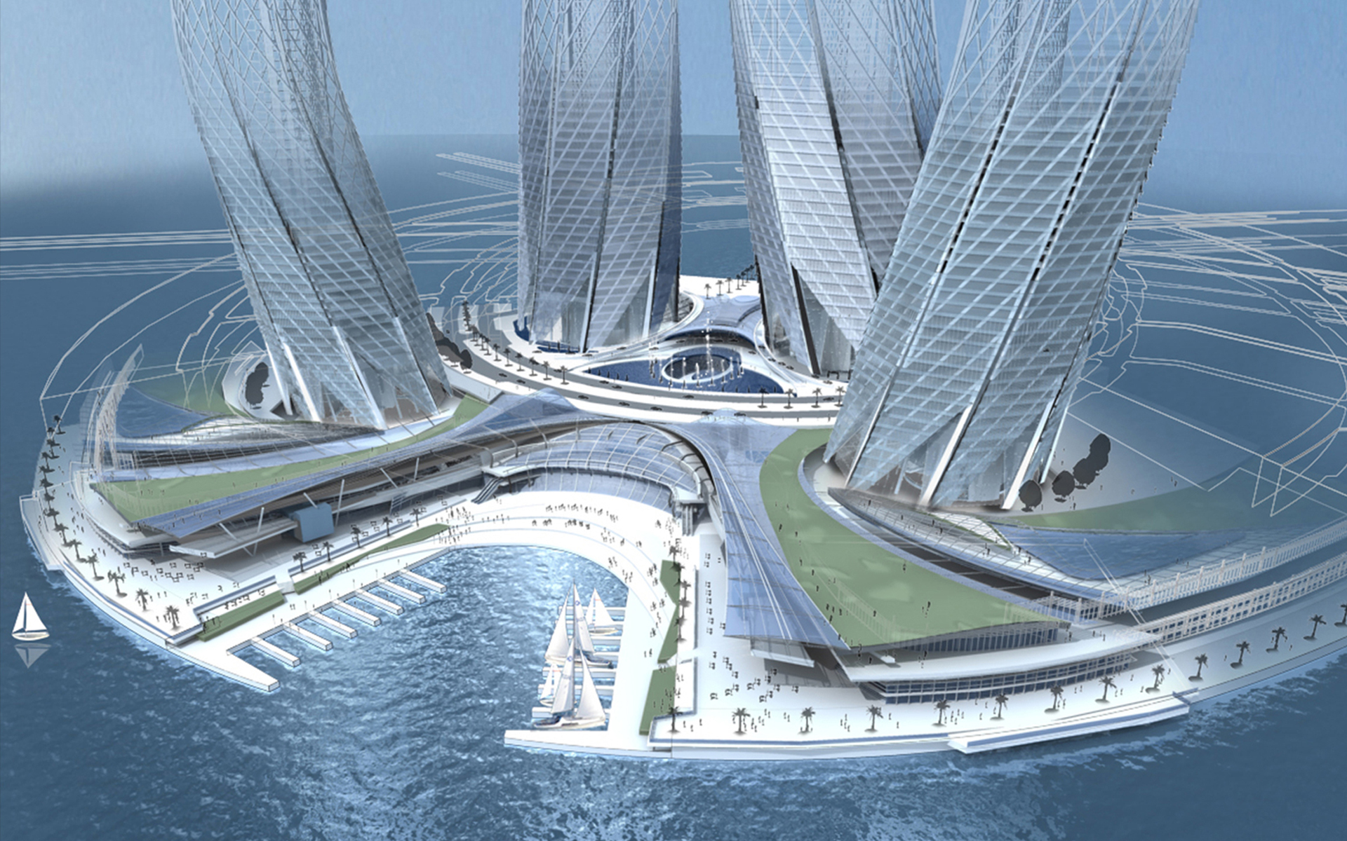 Architecture Design In Dubai dubai towers, dubai | flu(x) architecture + design