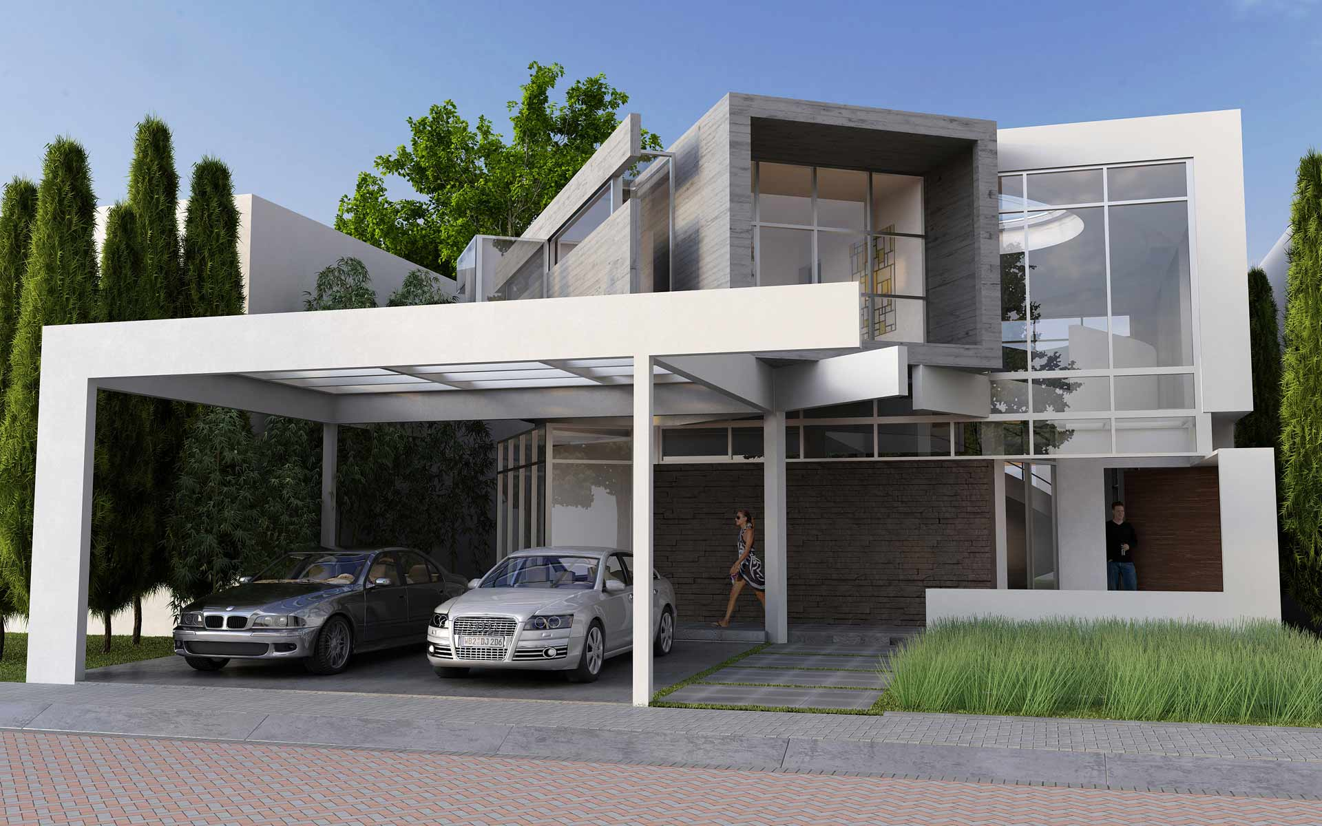 Front Elevations Of Residential Buildings Homedesignpictures